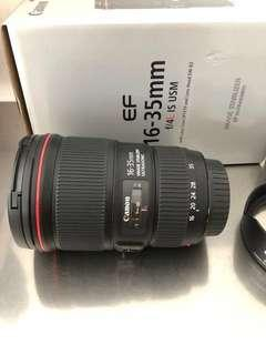 Canon 16-35mm F4 L IS (FAST DEAL)