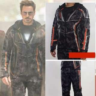 🚚 Sports Jacket & Pants Avengers Infinity Wars Ironman
