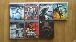 PS3 Games RM35 Each