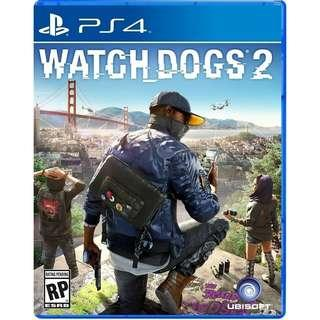 [New] Watch Dogs 2 Cd game