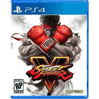 [New] Street Fighter V Cd game