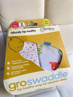 限時優惠🌟2條裝Gro Hip-Healthy Cotton Swaddles🌟包巾