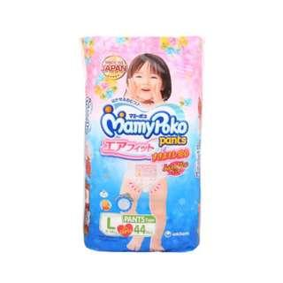 Mamypoko Pants Air Fit for Girls L44