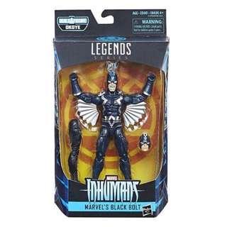 MISB Marvel Black Panther Legends Series Black Bolt (Okoye BAF The Inhumans Medusa Avengers Infinity War Spider-Man X-Men Select)