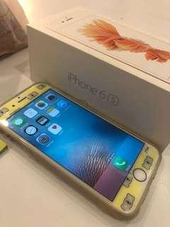 Iphone 6s ( rose gold)