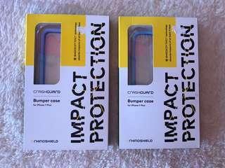 CRASHGUARD BUMPER CASE FOR iPHONE 7plus/8plus(BABY BLUE)