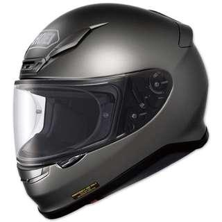 Shoei RF-1200 SIZE SMALL ONLY ANTHRACITE GREY DARK SILVER Motorcycle Motorbike Full Face Helmet DOT Approved