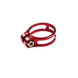 Aerozine Seat Clamp with Titanium Bolt XSC-1.0 - Red