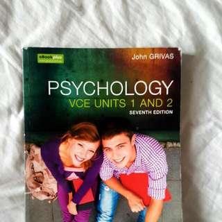 Psychology VCE Units 1 2