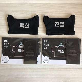 Baekhyun/Chanyeol Reflective Shirt (double sided)