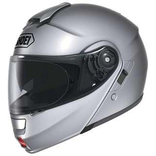 Shoei Neotec SIZE SMALL ONLY Road Race Street Light Silver Motorcycle Motorbike Full Face Helmet DOT Approved