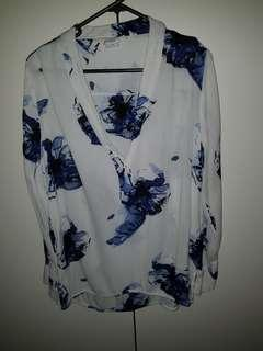 H&M printed top