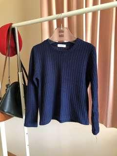 Aland Blue Navy Jumper