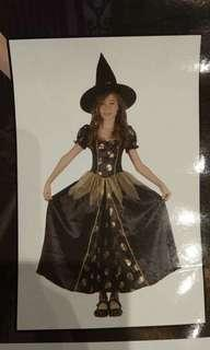 Witch Costume & Broom