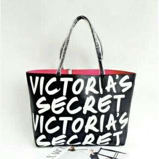 Promo promo📣📣 New Victoria's secret black tote bag