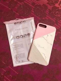 Iphone 7/8+ Hard Marble Case