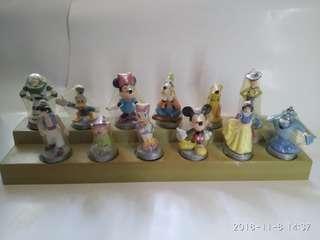 Walt Disney's 100 Year of Imagination x MTR 全套十二公仔