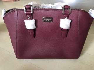 Michael Kors Handbag - Merlot (Wine)