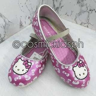 HELLO KITTY Ribbon Pink Girls Doll Shoes