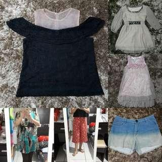 Blouse + celana cantiks @harga 20k