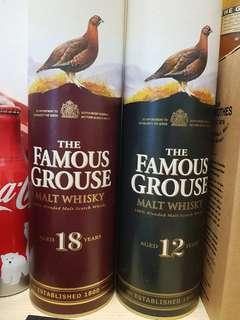 The Famous Grouse 12 n 18yo