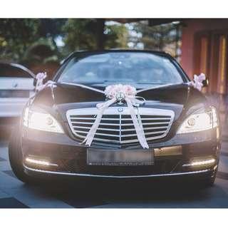 Ready Stock - Wedding Car Decoration