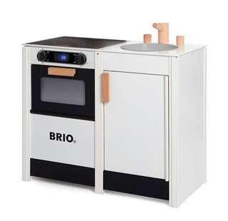 Brio Nordic Scandi Play Kitchen Stove and Sink Combo
