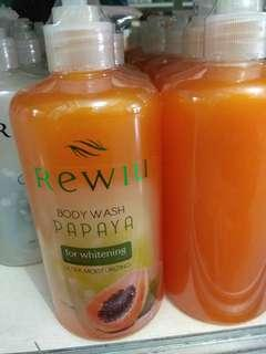 Body wash papaya sabun mandi untuk pemutih kulit