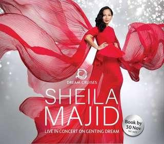 Sheila Majid Concert on Genting Dream Cruise (5 Nights)
