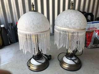 Antique Ornamental Desk Lamps
