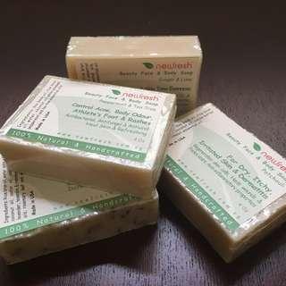 Newfresh™ Natural Face & Body Soap Bar