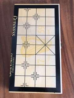 chinese chess wood board storage bored game