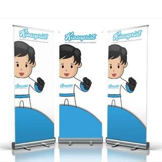 Cheap Pull Up Banner / Roll Up Banner Stand Singapore / Table Top Banner / Exhibition Banner