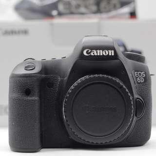 Used - Canon EOS 6D SC 104k (Body)