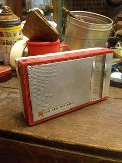 Vintage national japan radio.. antik