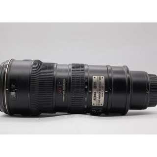 Used - Nikon 70-200MM F2.8G ED AFS VR