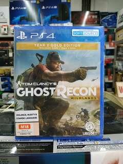 🆕 PS4 Ghost Recon Wildlands Year 2 Gold Edition