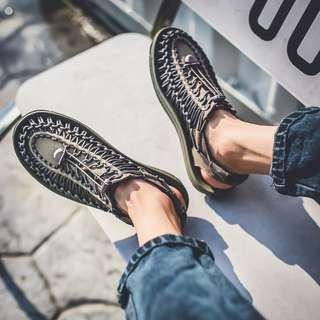 男女款羅馬款百搭涼鞋