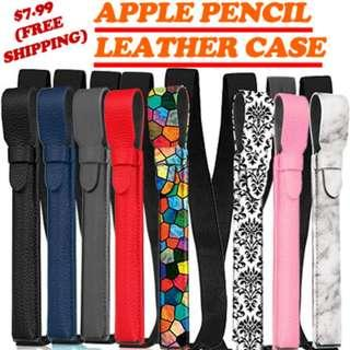 Leather Apple Pencil Case - Free Shipping