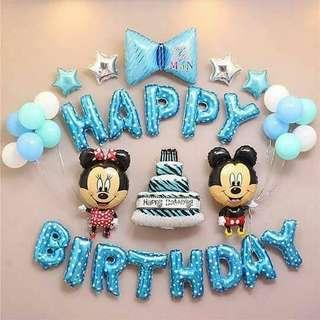 🌟 Mickey & Minnie Birthday Set 🌟