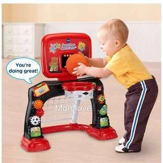 Ready Stock ! *Christmas Gift for your little one* Brand New in Box Vtech Smart Shots Sports Center, Red/Black (Fisher Price Quality)