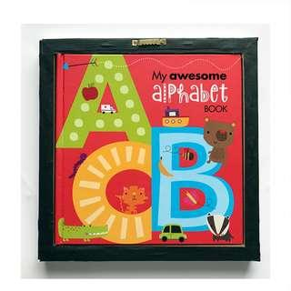 🚚 [FREE MAIL]BN My Awesome Alphabet Book ABC