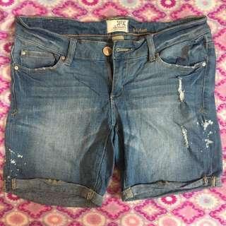 GRG Denim Shorts (Size 32) Slightly Stretchable