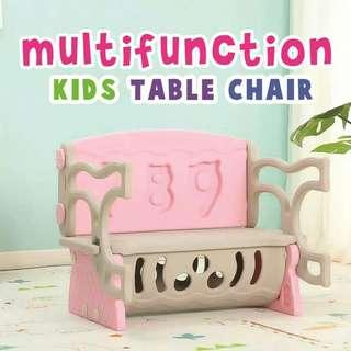 MULTI FUNCTION KIDS TABLE CHAIR