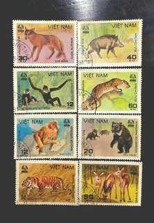 🚚 越南野生動物郵票