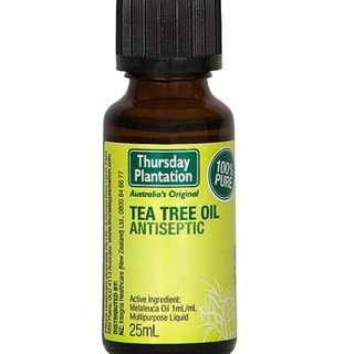 🚚 [FREE MAIL]Thursday Plantation Tea Tree oil 25ml