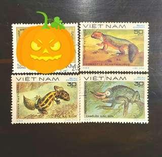 🚚 越南1983年變色蜥蜴郵票