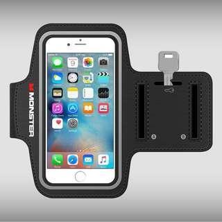 全新 Monster iSport 超薄高透氣手機臂帶 (5.5吋手機可用)