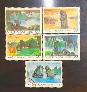 🚚 越南世界遺產下龍灣郵票
