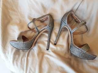 Vince Camuto Crystal Embellished Heels